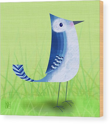 Bluebird Wood Prints