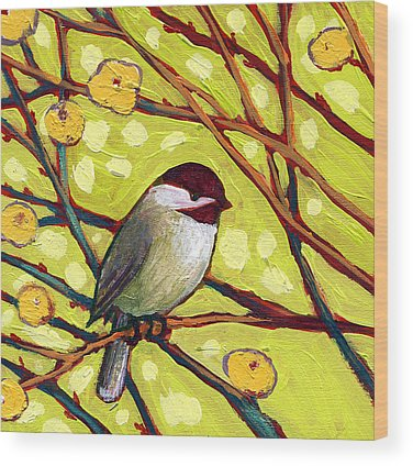 Chickadee Wood Prints