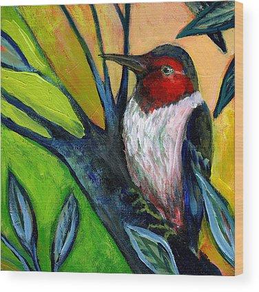 Woodpecker Wood Prints
