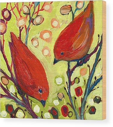 Reds Wood Prints