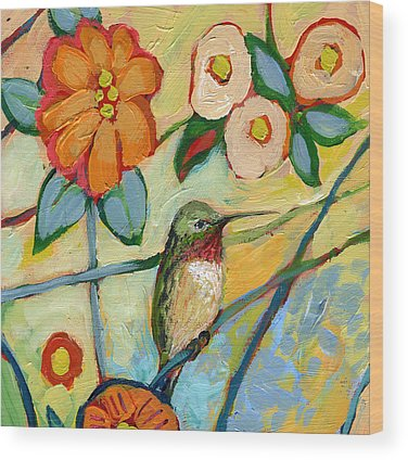 Hummingbird Wood Prints