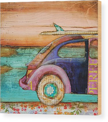 Car Wood Prints