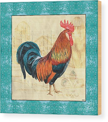 Chicken Wood Prints