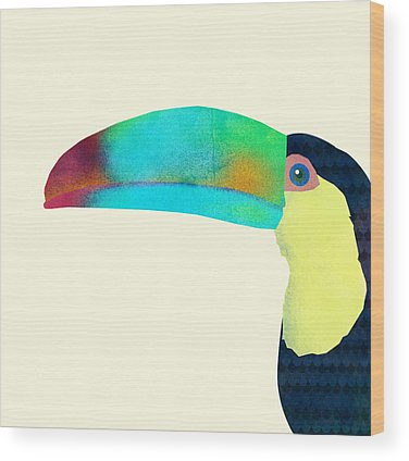 Toucan Wood Prints