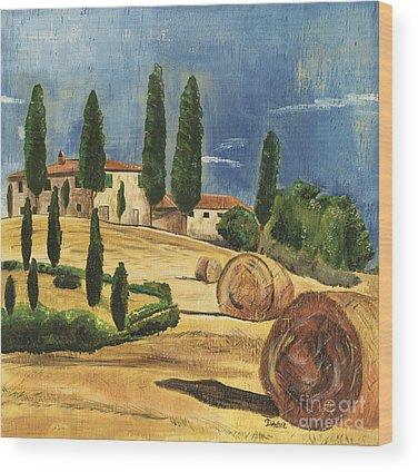 Hills Wood Prints