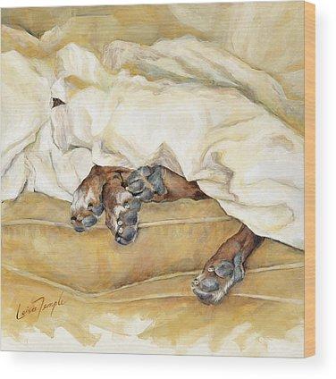 Burnt Sienna Wood Prints