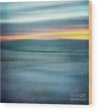 Sunrise Highway Wood Prints