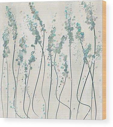 Shades Of Blue Wood Prints