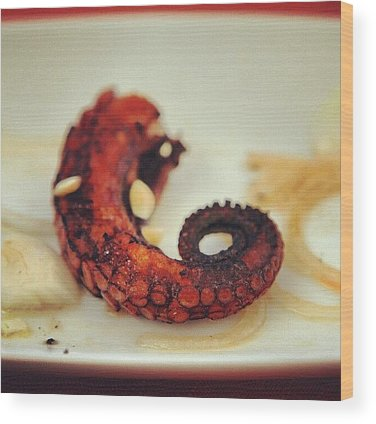 Octopus Wood Prints
