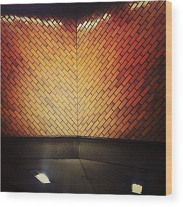 Angle Wood Prints