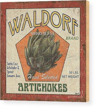 Artichoke Wood Prints