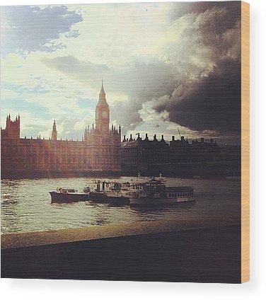 England Wood Prints