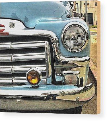 Car Wood Prints