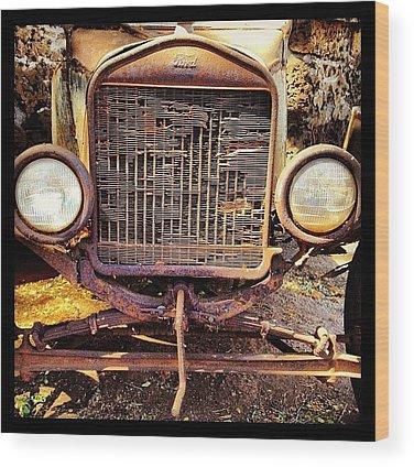 Rust Wood Prints
