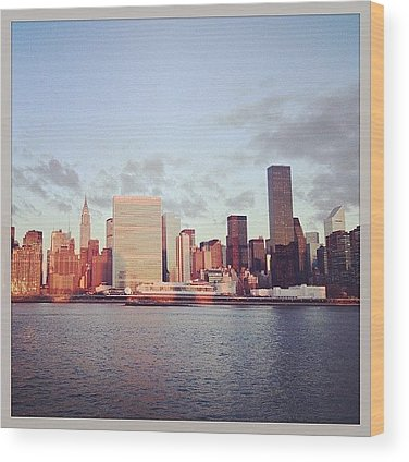 New York City Wood Prints