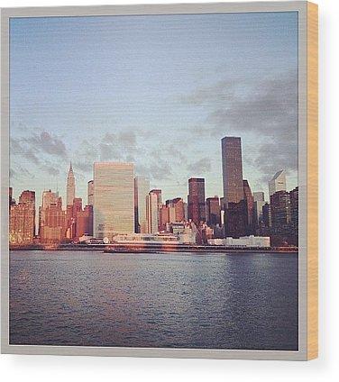 Urban Wood Prints