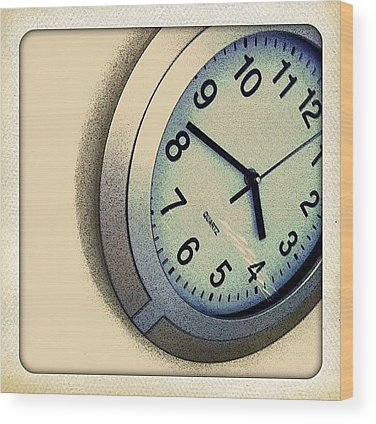Time Wood Prints