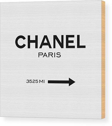 Chanel Wood Prints