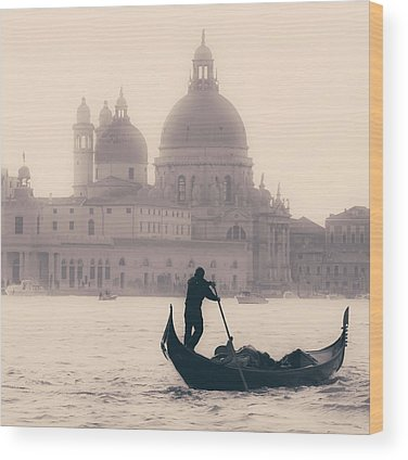 Silhouette Wood Prints