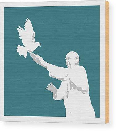 Dove Wood Prints