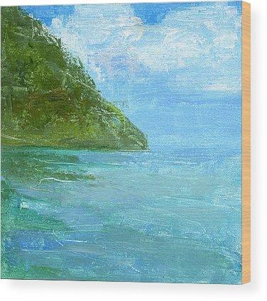 Beach Wood Prints