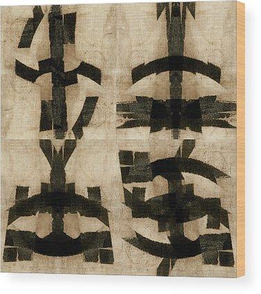 Hieroglyphics Wood Prints