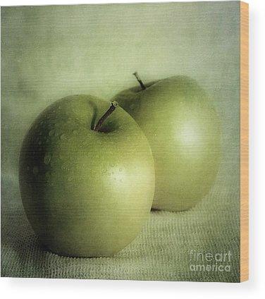 Dark Green Wood Prints