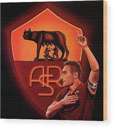 Italian Football Wood Prints