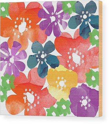 Colorful Wood Prints