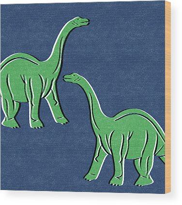Dinosaur Wood Prints