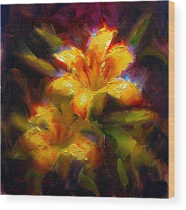 Daylily Wood Prints