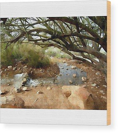 Desert Wood Prints