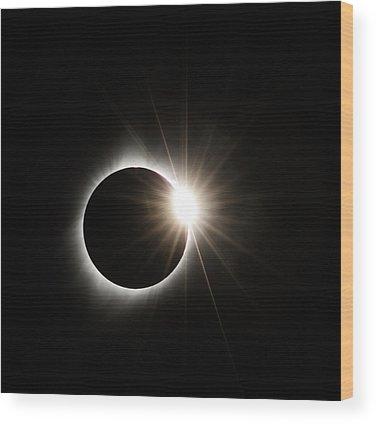 Diamond Ring Wood Prints