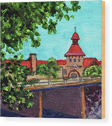 Michigan Frankenmuth Wood Prints