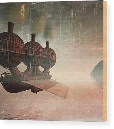 Steampunk Wood Prints