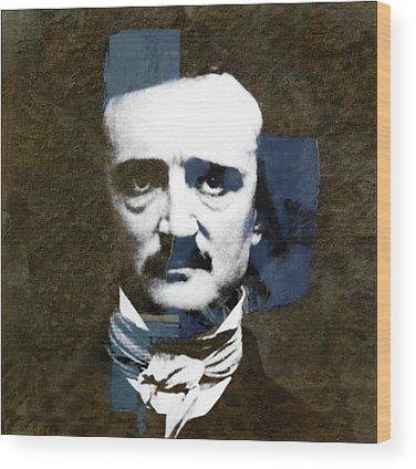 Poe Wood Prints