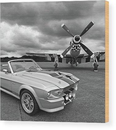 P51 Wood Prints