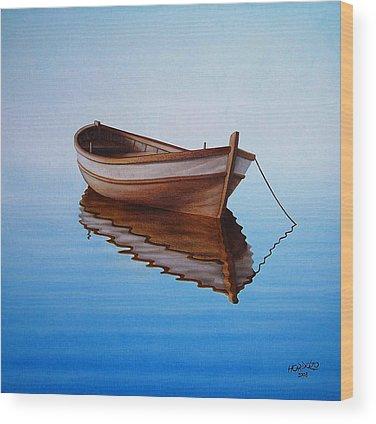 Boat Wood Prints