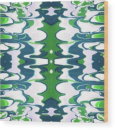 Fluid Wood Prints