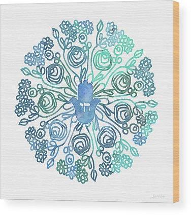 Hamsa Wood Prints