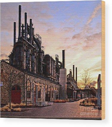Bethlehem Wood Prints