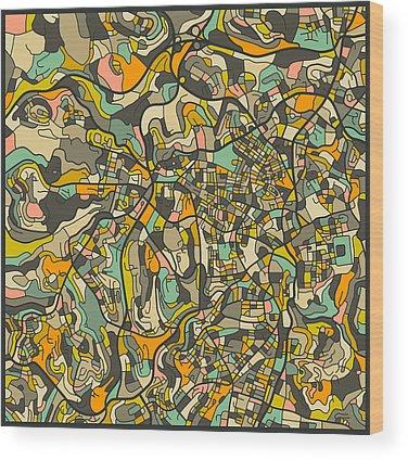 Jerusalem Wood Prints