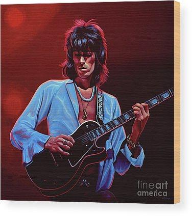 Rolling Stones Wood Prints