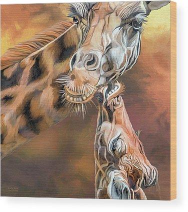 Mama Africa Wood Prints