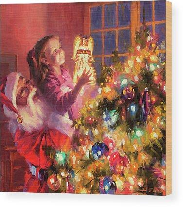 December Wood Prints