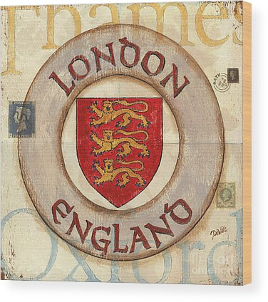London Wood Prints