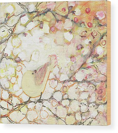 Cherry Blossom Wood Prints
