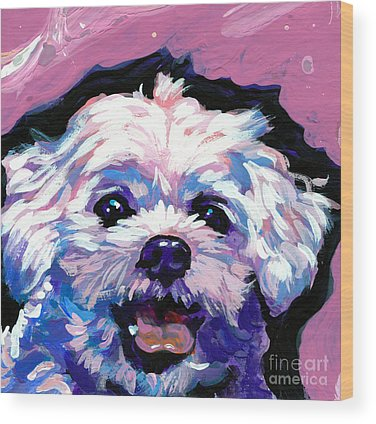 Shih Tzu Wood Prints