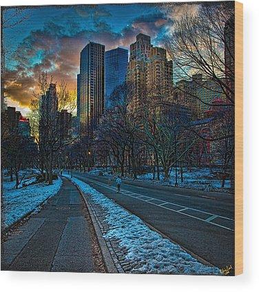Warner Park Wood Prints