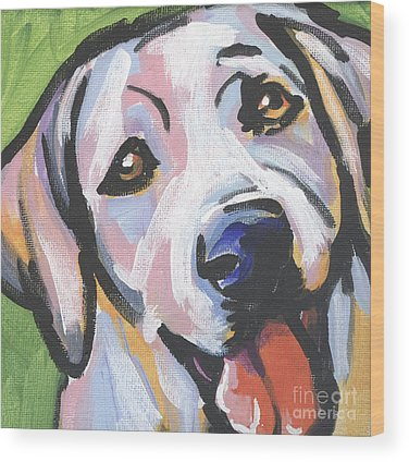 Labrador Retriever Wood Prints